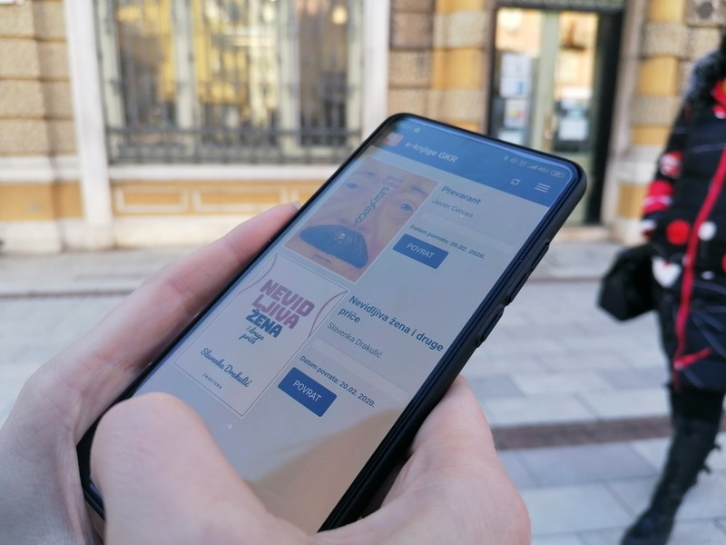Mobile app for e-books on Croatian language available to members of Rijeka City Library