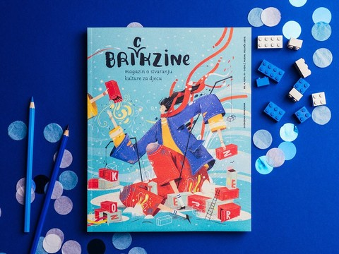 Rijeka City Library published new edition of Brickzine, magazine for kids about culture and art