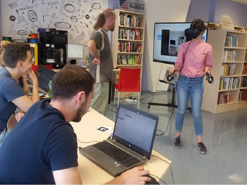 TechWednesday: Presentation of VR-a i 3D printing technology at library branch