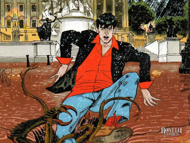 Knjiga do knjige...a strip u centru: Dylan Dog u Filodrammatici