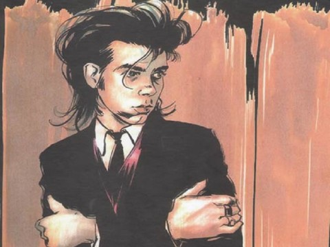 Rock propovjednik Nick Cave u stripu: Mercy On Me