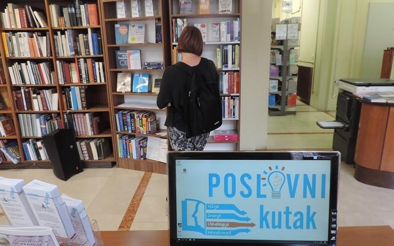 Poslovni Kutak Gradska Knjižnica Rijeka